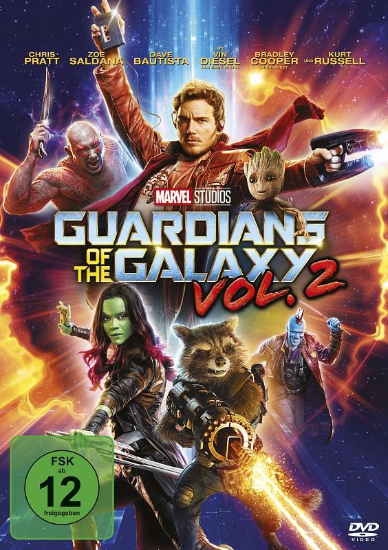 Guardians of the Galaxy  2 DVD Bild