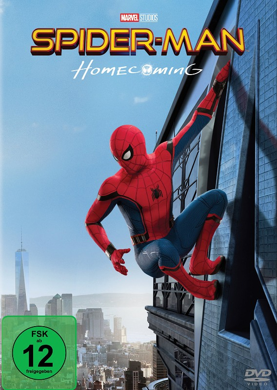 Spider-Man Homecoming DVD Bild