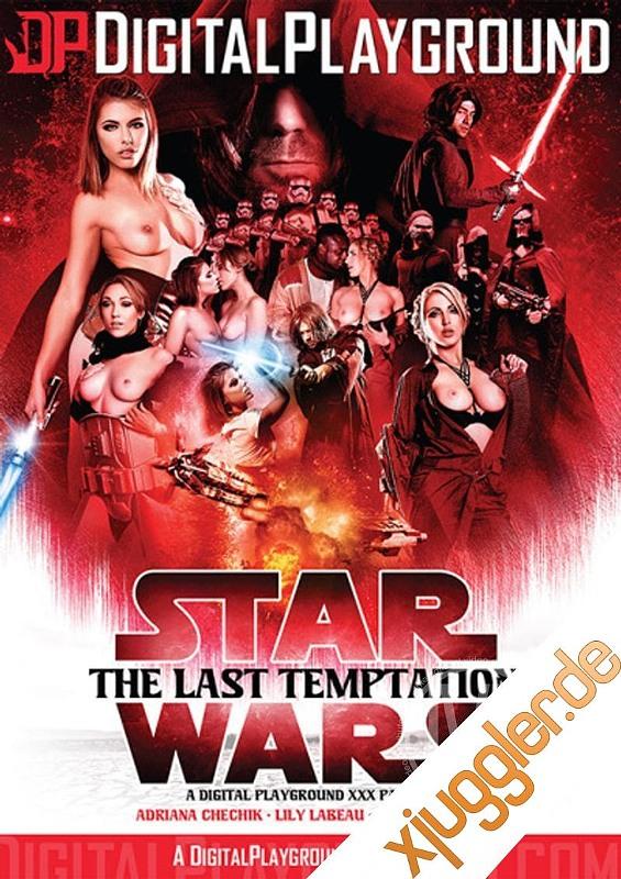 Star Wars The Last Temptation Parody DVD Bild