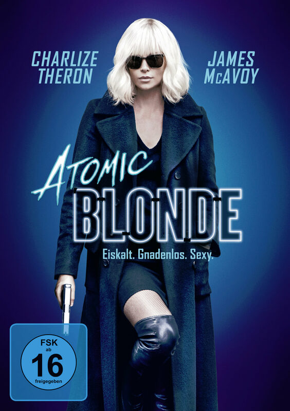 Atomic Blonde DVD Bild