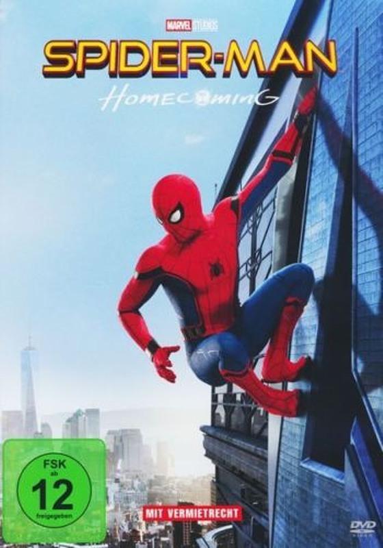 Spider-Man: Homecoming DVD Bild