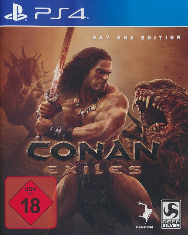 Conan Exiles Day1 Edition DE Playstation 4 Bild
