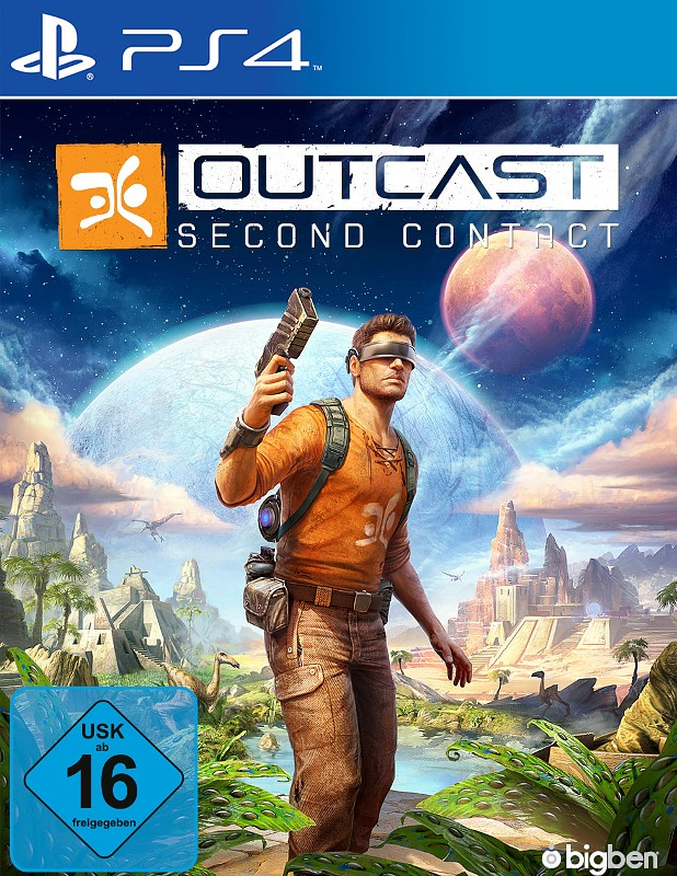 Outcast - Second Contact Playstation 4 Bild