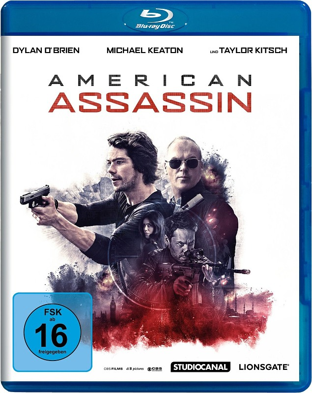 American Assassin Blu-ray Bild