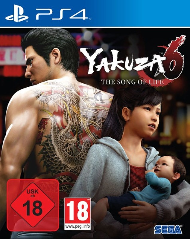 Yakuza 6 - The Song of Life Playstation 4 Bild