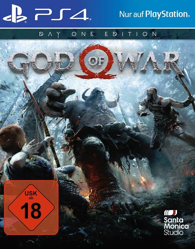 God of War - Day One Edition Playstation 4 Bild