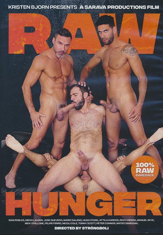 Raw Hunger Gay DVD Bild