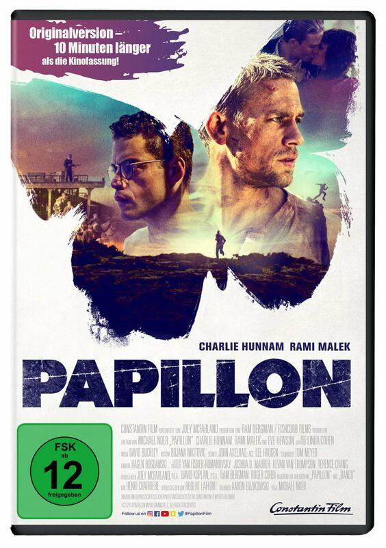Papillon DVD Bild