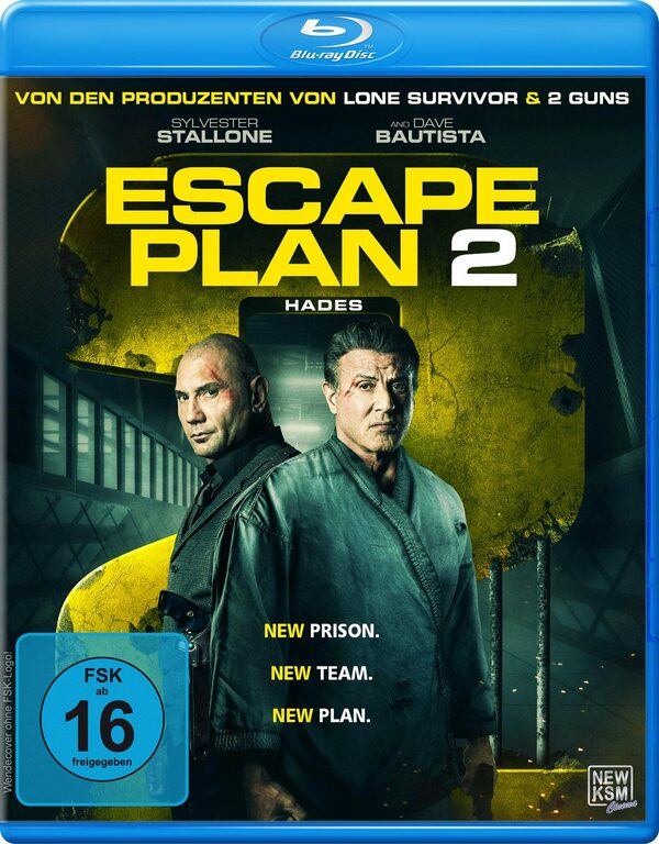 Escape Plan 2 - Hades Blu-ray Bild