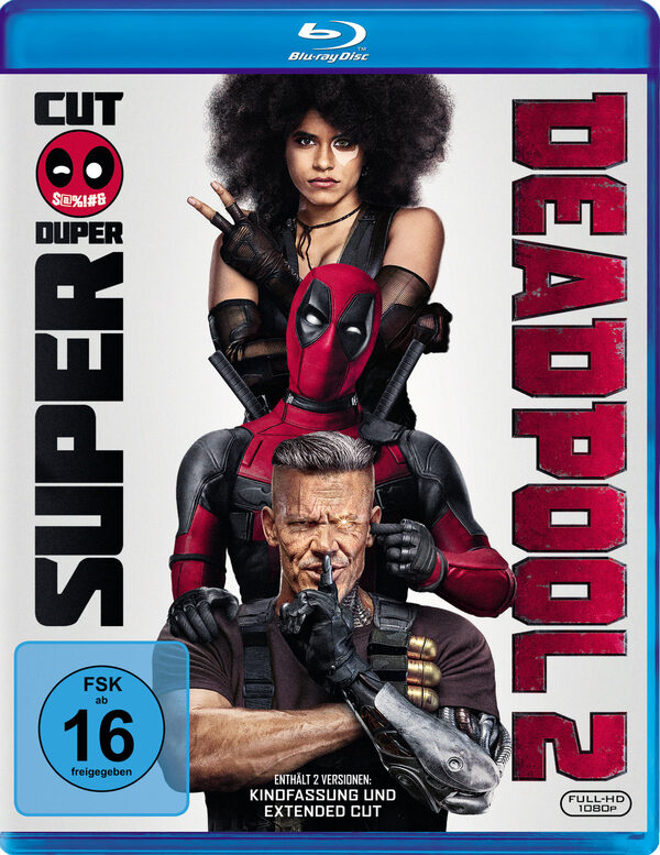 Deadpool 2  (2 BRs) Blu-ray Bild