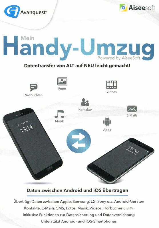 Aiseesoft Mein Handy-Umzug (FoneCopy)   XJUGGLER PC Shop