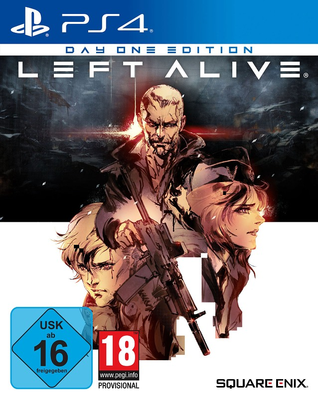 Left Alive (Day One Edition) Playstation 4 Bild