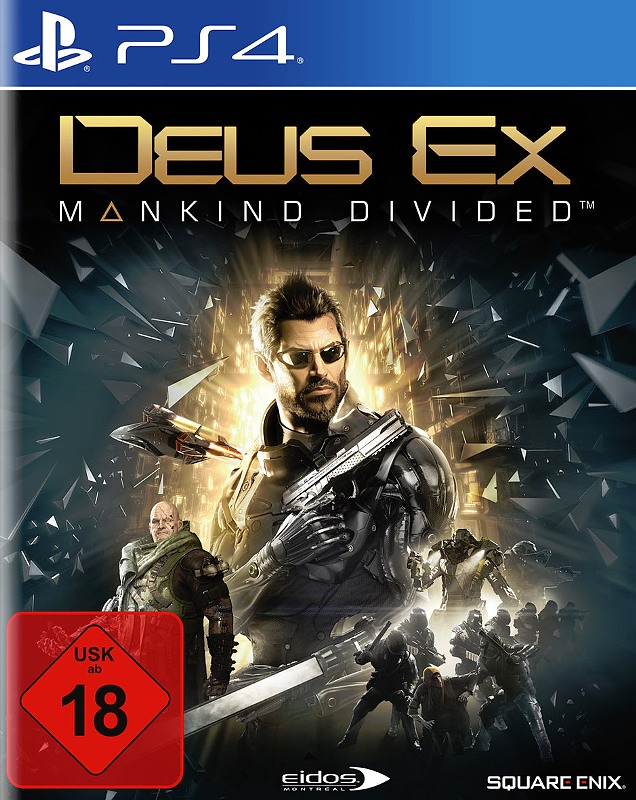 Deus Ex: Mankind Divided Playstation 4 Bild