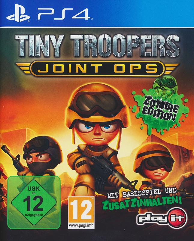 Tiny Troopers - Joint Ops: Zombie Edition Playstation 4 Bild