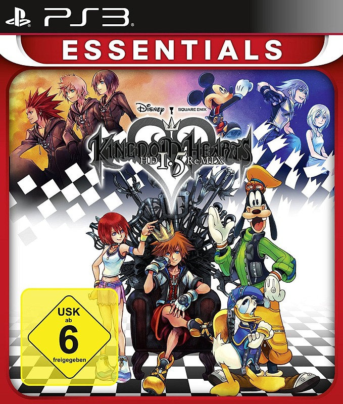 Kingdom Hearts HD 1.5 ReMIX PS3 Bild