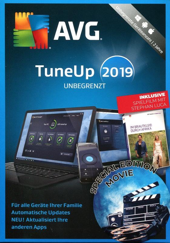 AVG TuneUp unbegrenzt 2019 - Special Edition PC Bild