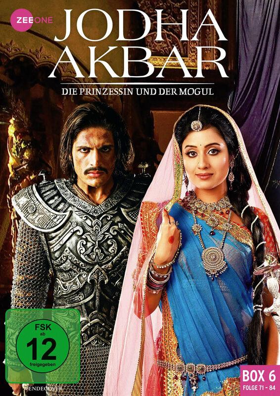 Jodha Akbar - Die Prinzessin und der Mogul Box 6 DVD Bild