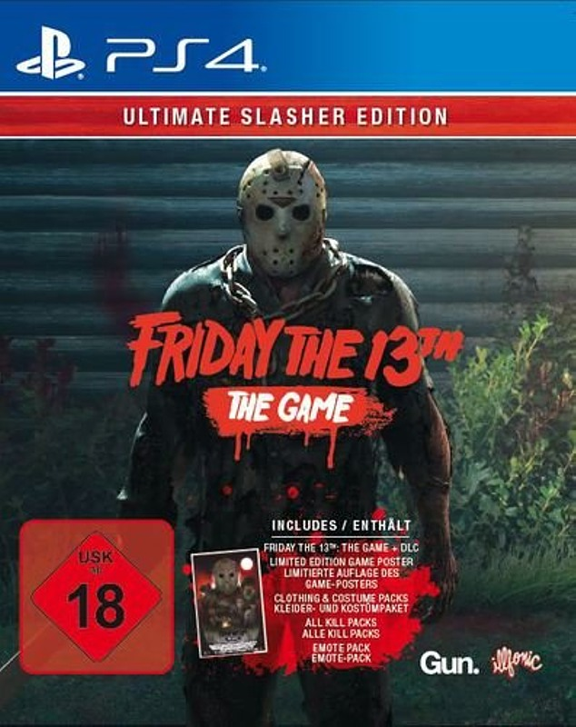 Friday the 13th - The Game (Ultimate Slasher Ed) Playstation 4 Bild