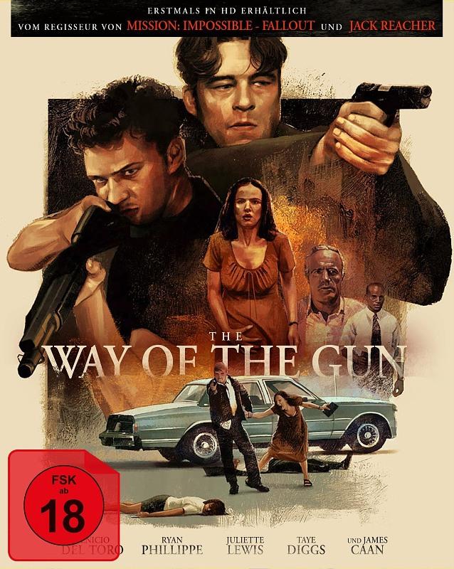 The Way of the Gun - Mediabook  (+ DVD) Blu-ray Bild