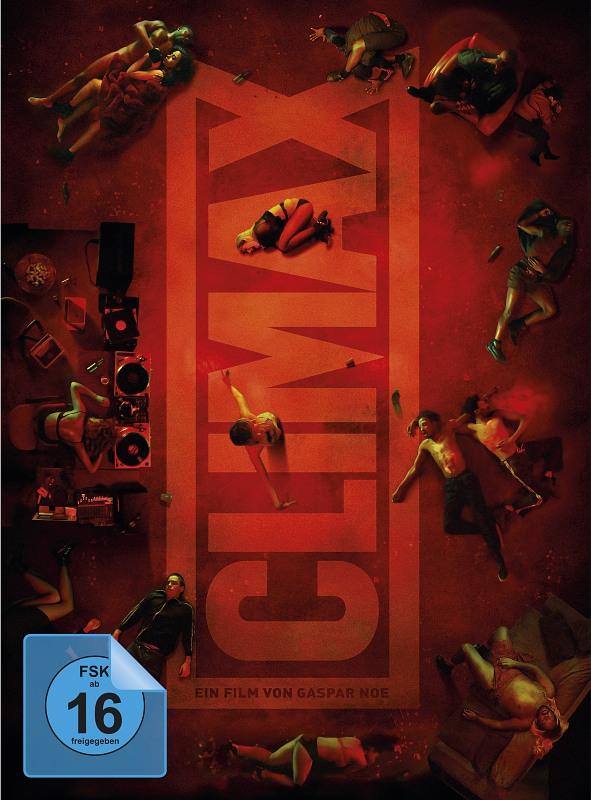 Climax - Mediabook  [LE] (+ DVD) Blu-ray Bild