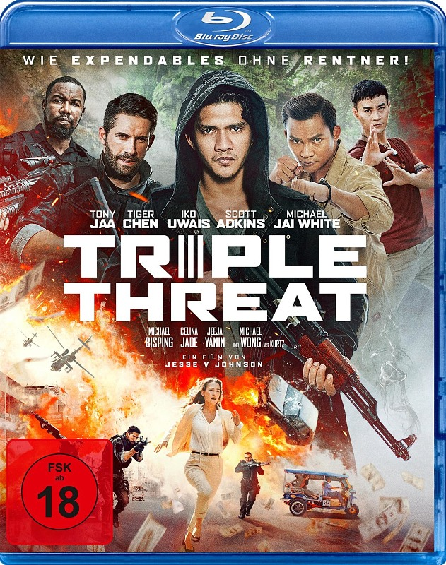 Triple Threat Blu-ray Bild