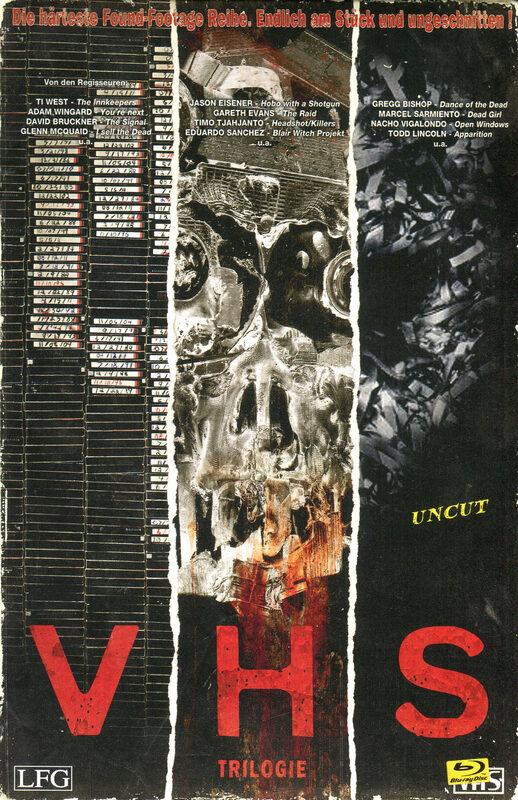 V/H/S - Trilogie Blu-ray Bild
