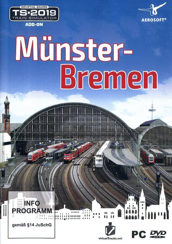Train Simulator 2019 - Münster-Bremen (Add-On) PC Bild