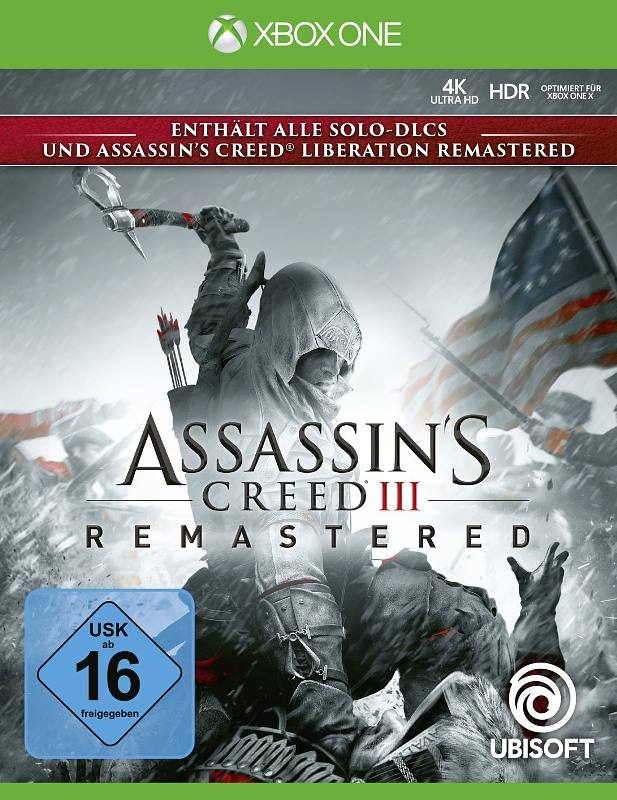 Assassin's Creed 3 Remastered XBox One Bild