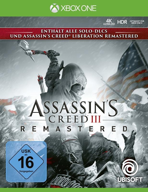 Assassin's Creed 3 Remastered XBox One Bild
