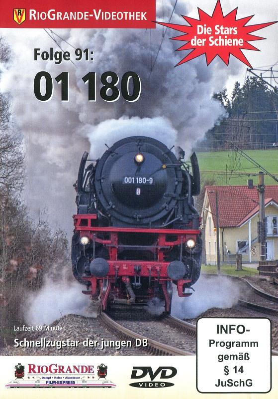 01 180 - Schnellzugstar der jungen DB DVD Bild