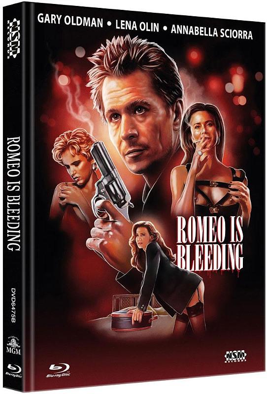 Romeo is Bleeding - 2-Disc Mediabook (Cover B) - limitiert auf 444 Stück Blu-ray Bild
