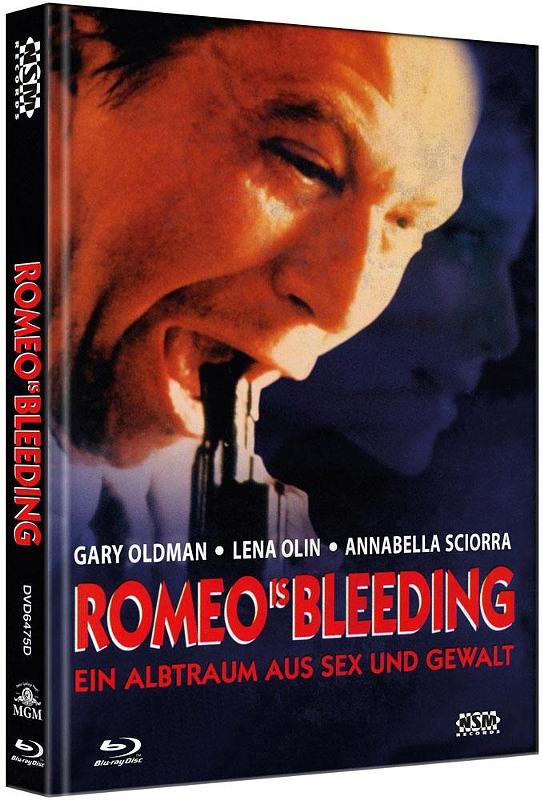 Romeo is Bleeding - 2-Disc Mediabook (Cover D) - limitiert auf 111 Stück Blu-ray Bild
