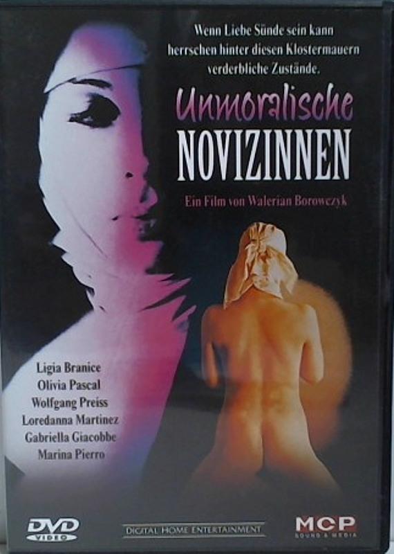 Unmoralische Novizinnen DVD Bild