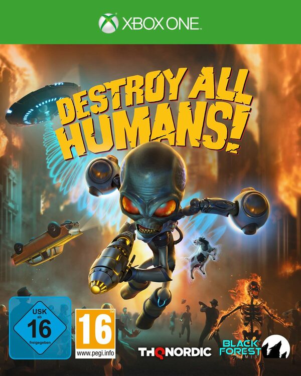 Destroy All Humans! XBox One Bild