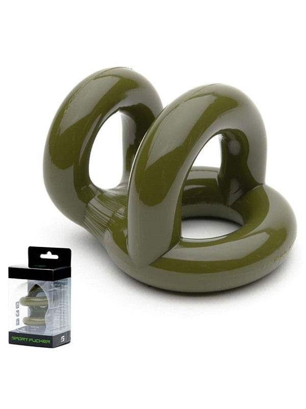 Sport Fucker Fucker Ring Army Green, -one size Gay Toys Bild