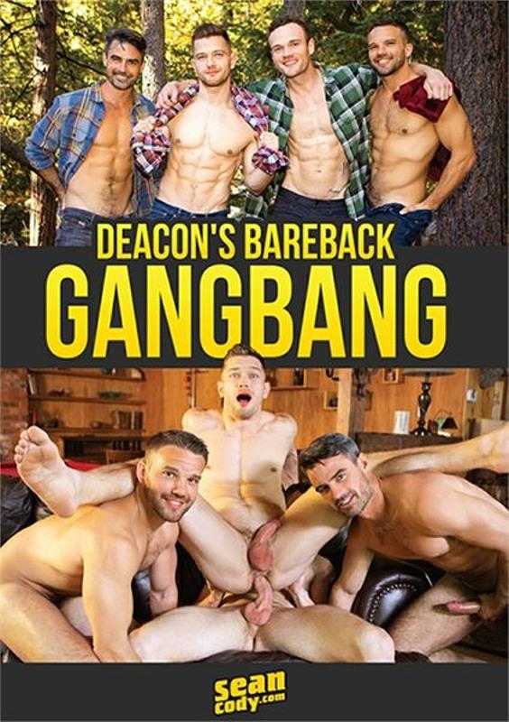 Deacon's Bareback Gangbang Gay DVD Bild