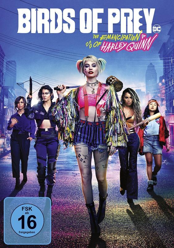 Birds of Prey - The Emancipation of Harley Quinn DVD Bild