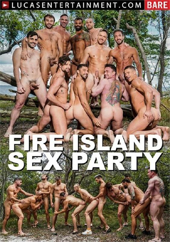 Fire Island Sex Party Gay DVD Bild