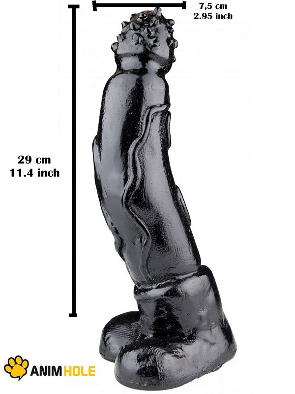 Tiger Dildo 29 x 7,5 cm Gay Toys Bild