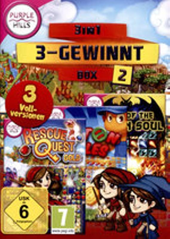 3-in-1 3-Gewinnt Box 2 PC Bild