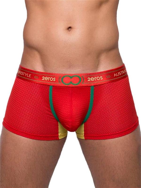 2Eros Aeolus Trunk - Underwear Red Tempest, Gr.: M Gay Kleidung Bild