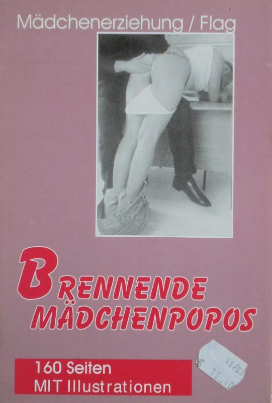 Brennende Mädchenpopos Buch Bild