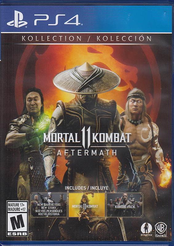 Mortal Kombat 11 - Aftermath Kollection Playstation 4 Bild