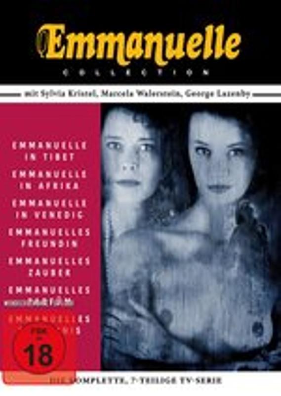 Emmanuelle Collection - Das Original Sylvia Kris DVD Bild