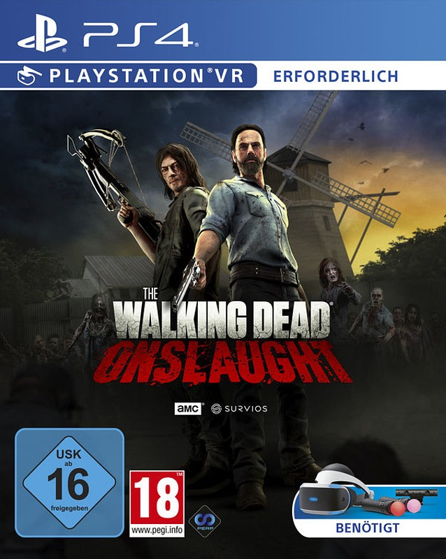 The Walking Dead: Onslaught (PlayStation VR) Playstation 4 Bild