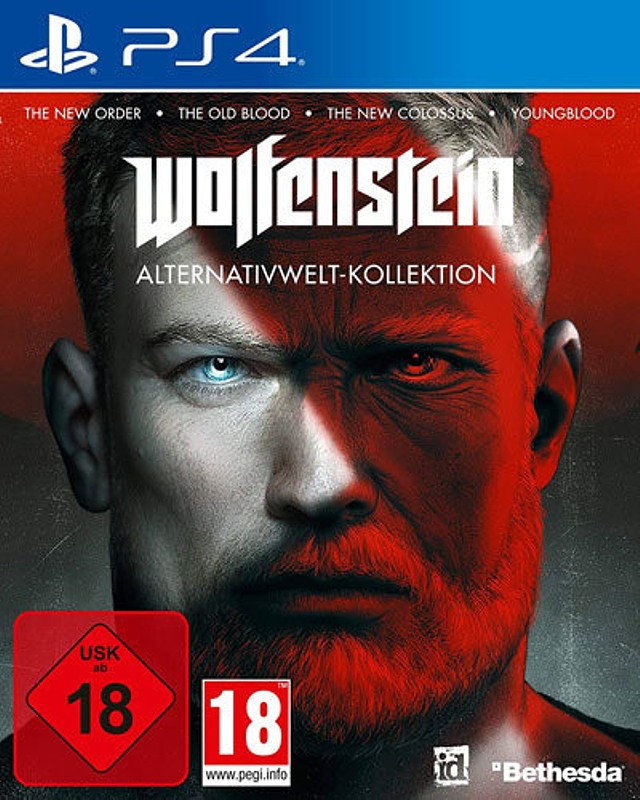 Wolfenstein - Alternativwelt-Kollektion Playstation 4 Bild
