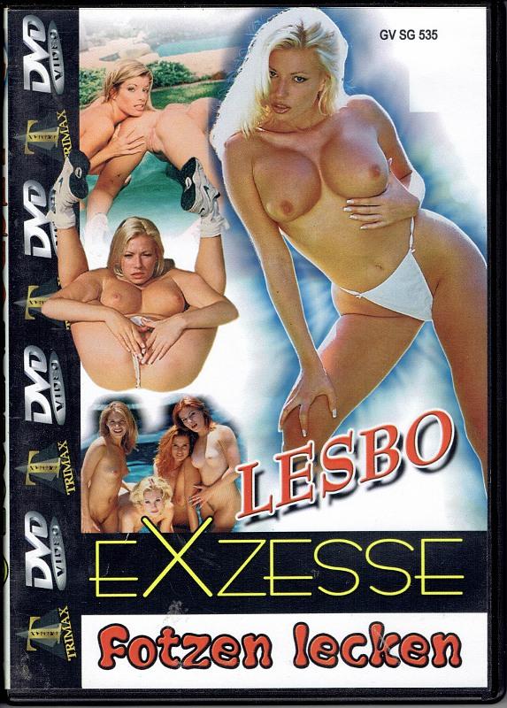 Lesbo Exzesse Fotzen Lecken DVD Bild