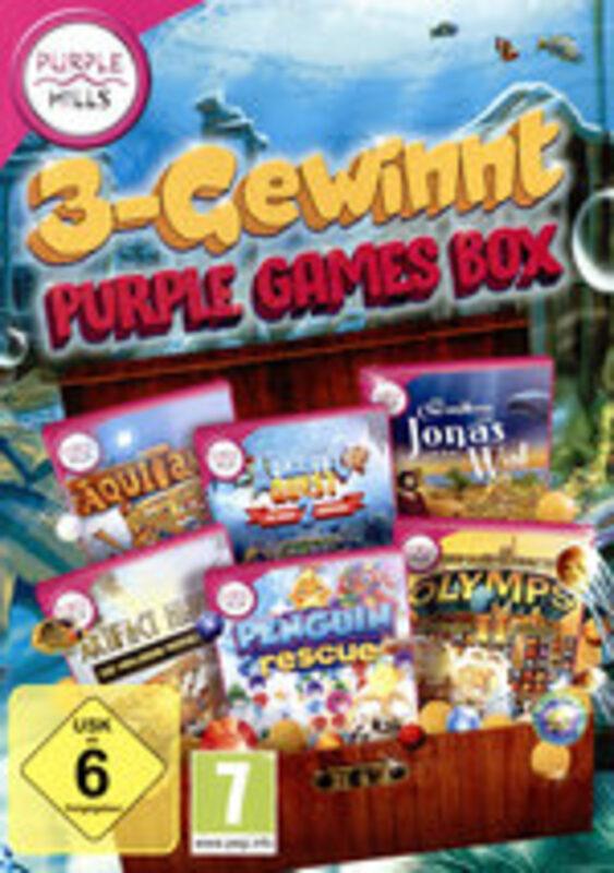 3-Gewinnt Purple Games Box PC Bild