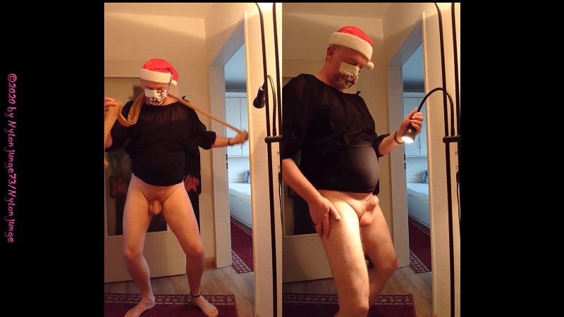 Kleiner Striptease zum Advent 2 Gay Download Bild