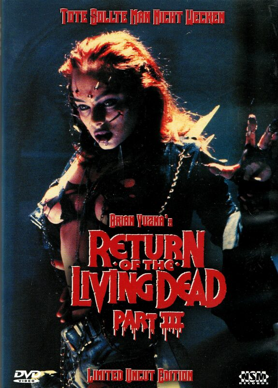 Return of the Living Dead 3 - Limited Uncut Edition - Cover B (2DVDs) DVD Bild